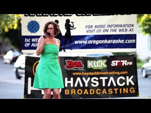 Lisa Oregon Karaoke Challenge 2013 The Dalles OR.