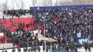 ФК Волга НН - Динамо М 3:0, беспорядки на стадионе