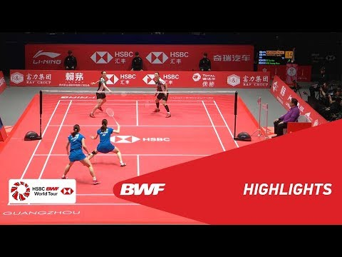 HSBC BWF World Tour Finals 2018   WD - F - HIGHLIGHTS   BWF 2018