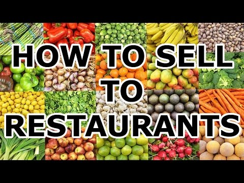 How To Sell To Restaurants