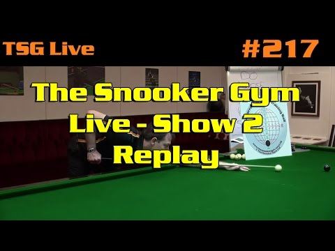 The Snooker Gym LIVE 2 | Live Questions & Answers