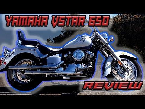 Yamaha vstar 650 a prueba  Review en español