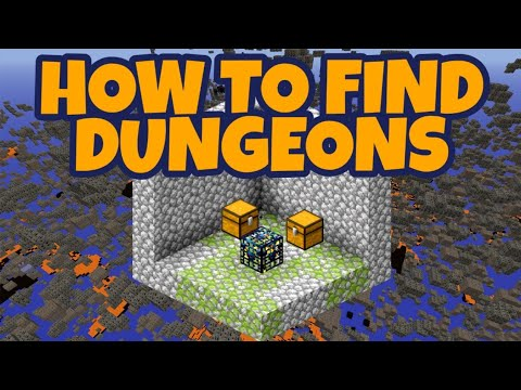 How To Find Dungeons In Minecraft 1 15 Youtube
