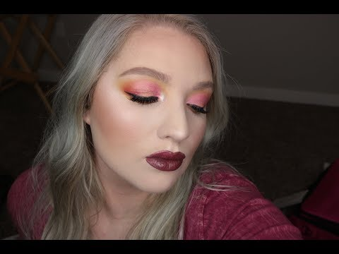 Pink Cut Crease Makeup Tutorial | Ft. Jaclyn Hill x Morphe Vault Collection thumbnail