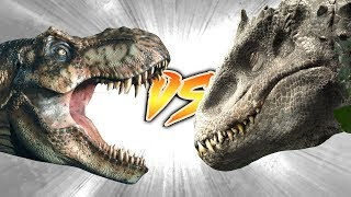 Indominus Rex VS Tyrannosaurus Rex [This Ain't What You Think...]