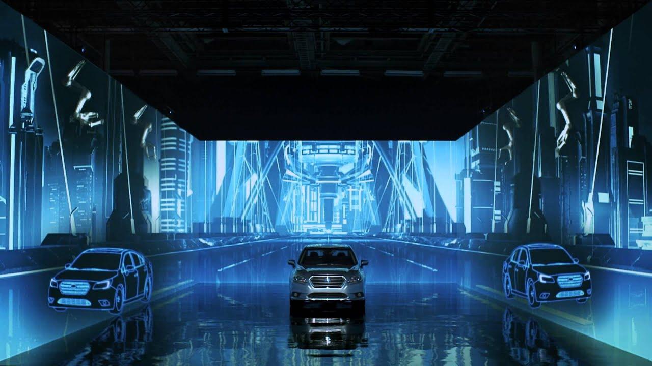 Subaru Legacy 3 6 R >> SUBARU NEW LEGACY Projection Installation - YouTube