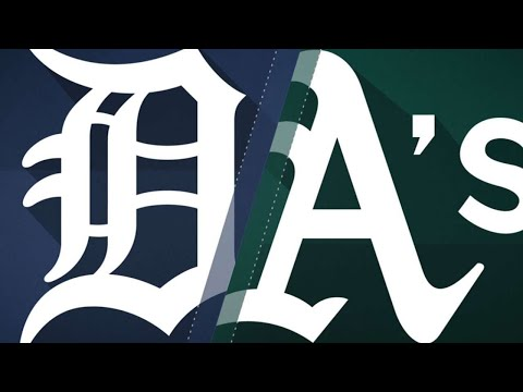 Olson, Cahill lead A's to 6-0 victory: 8/5/18