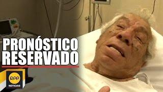 Guillermo Campos es internado en el hospital Almenara