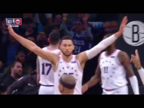 Ben Simmons Had An All-Time Reaction To Jared Dudley's Airball In Game 3