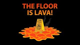 NEW GLITCH on THE FLOOR IS LAVA!! // ROBLOX