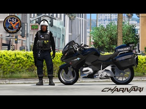 GTA 5 LSPDFR - CSI - BMW 1200RT - PATROUILLE 12 - CHOC FATALE