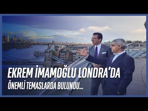 İBB Başkanı Ekrem İmamoğlu Londra'da Önemli Temaslarda Bulundu
