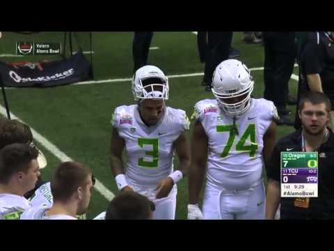 2015 Alamo Bowl TCU vs  Oregon