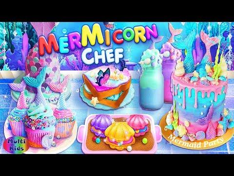 Masak Masakan Kue Berbi Permainan Masak Di Dapur Anak Anak Youtube