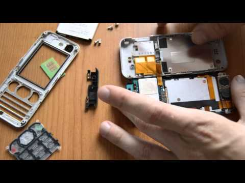 Disassembly sony ericsson w890i