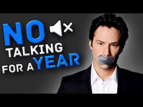 WHAT HAPPENS IF YOU STOP TALKING FOR 1 YEAR?
