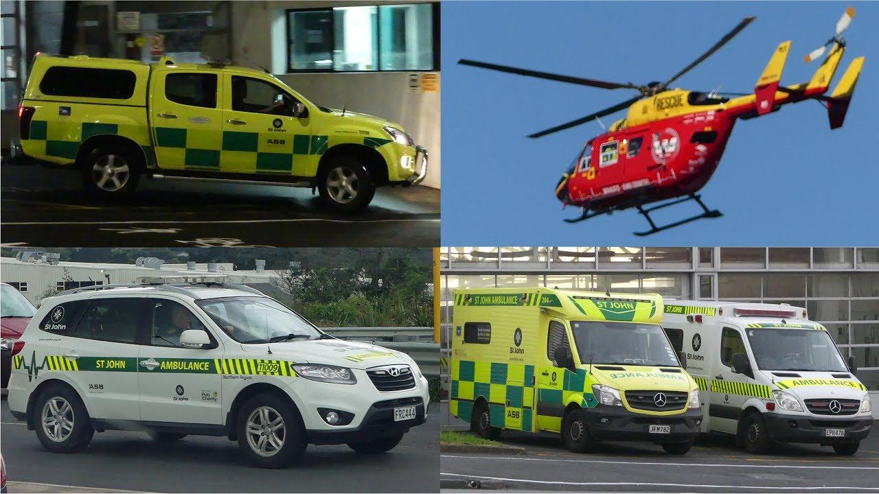 Ambulance & Rescue - New Zealand Trip 2018