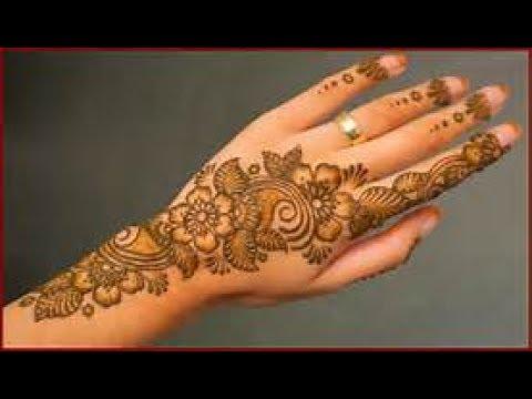 New Eid Arabic Mehndi Designs Back Hand Pakistani Indian Simple 2017