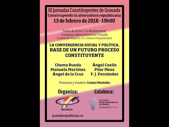 La Convergencia Social y Política, base de un futuro Proceso Constituyente - Mesa redonda de debate