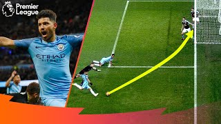 'An IMPOSSIBLE Angle!' | Outstanding Tight-angle Premier League Goals | Aguero, Salah, Bale