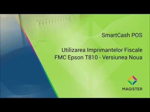 Utilizarea noilor imprimante fiscale FMC Epson T810 (Athlos) cu SmartCash POS