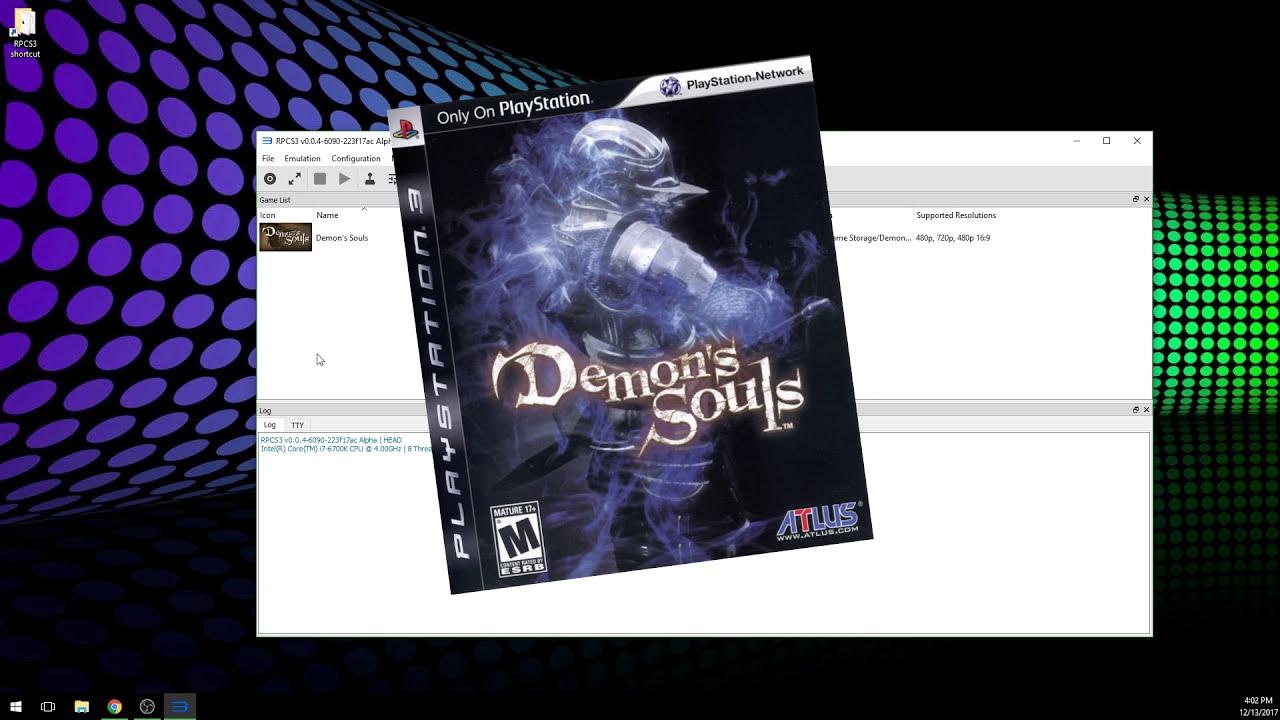 How To Play Demon'S Souls On Pc In 4k | Rpcs3 Ps3 Emulator Setup Guide |  Tutorial  Gidrah 15:12 HD