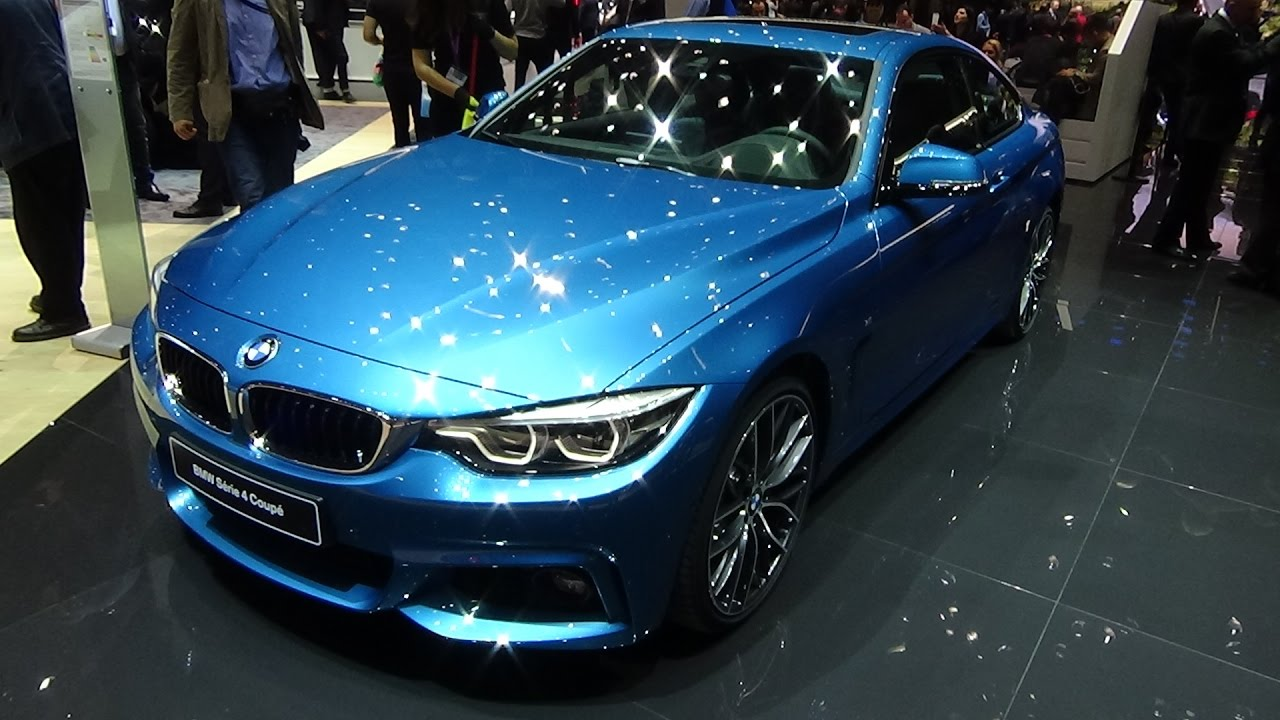 2018 bmw serie 4 coup geneva motor show 2017 youtube. Black Bedroom Furniture Sets. Home Design Ideas