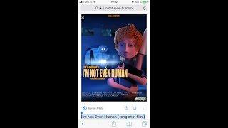 Kids CARTOON 3D, , I'm Not Even Human ( long shot film ) 🎥