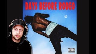 Travis Scott - Days Before Rodeo | FULL ALBUM REACTION AND DISCUSSION! (First time hearing)