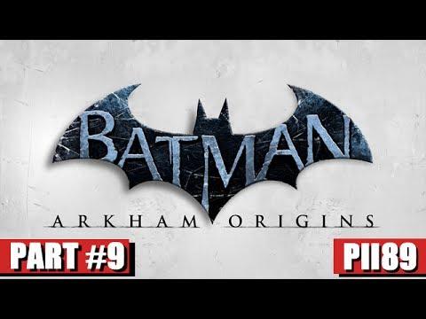 Batman Arkham Origins Gameplay Walkthrough Part 9 - The Sewers, Merchants Bank, Meet Joker (PC HD)