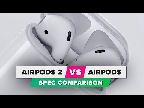 AirPods 2 vs. AirPods: Spec comparison Mp3