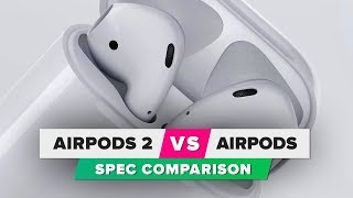AirPods 2 vs. AirPods: Spec comparison