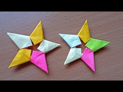 Origami Easy : Origami Star From post-it note