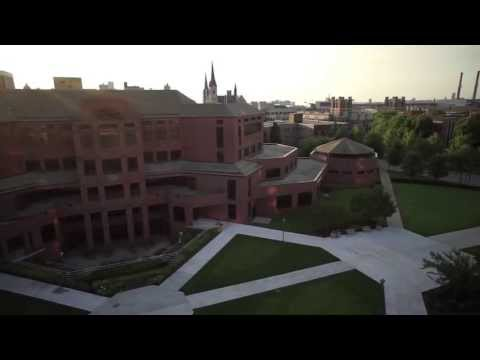 An aerial tour of Marquette University
