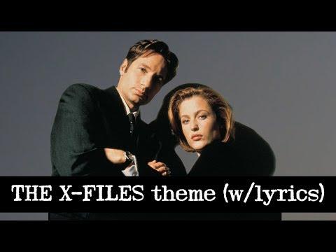 THE X-FILES theme (w/lyrics)