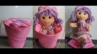 Boneca de Pano Fantoche Florisbela por Boneca Da Clo