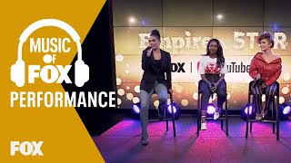 "Jude Demorest, Ryan Destiny & Brittany O'Grady Perform ""Unlove You"" At The YouTube Space NY 