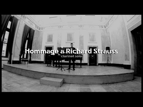 Mateusz Chmiel - Hommage à Richard Strauss (clarinet solo) [ Live @ Florianka Concert Hall 2015 ]