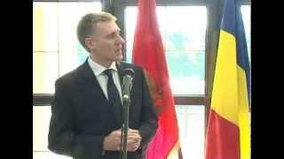 Potpredsjednik Vlade Igor Lukšić primio ministra vanjskih poslova Rumunije Titusa Korlateana