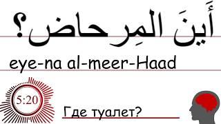 Арабский Язык 6 фраз для начинающих