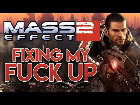 Fixing my Mass Effect 2 FUCK UP (Chill Stream) [Archive]