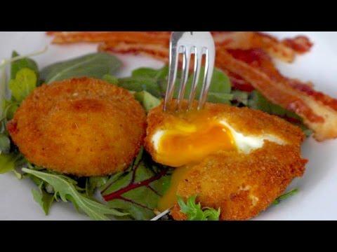 Crispy Poached Eggs
