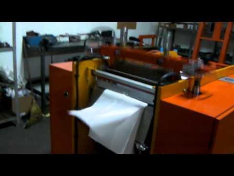 видео: Машина за пликове тип,,Потник'' полуавтомат