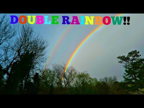 LATE MAIL AND A MAGICAL RAINBOW!