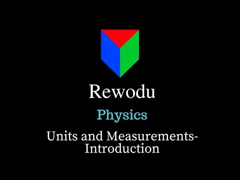 What is a Unit? (11.2.1), Units and Measurements, Class 11 Physics video in Hindi