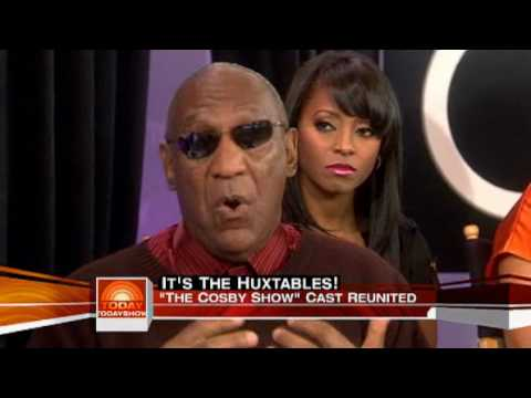 Today  Cosby cast reunites 25 years later 05192009 Part 4