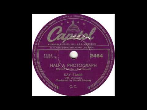 Kay Starr - Half A Photograph(1953)