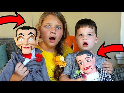 SLAPPY & SLAPPY'S BROTHER DANNY ARE BACK! ARE MORE VILLAINS COMING? GOOSEBUMPS IN REAL LIFE!