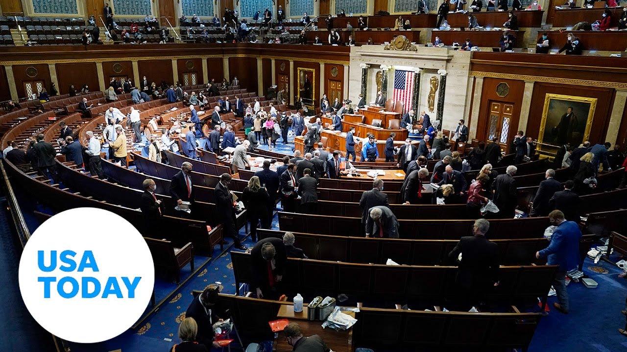 Live impeachment updates: House reconvenes to debate Trump impeachment