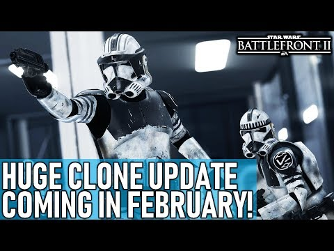 HUGE CLONE UPDATE COMING IN FEBRUARY! Star Wars Battlefront 2 thumbnail